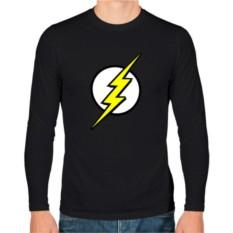 Мужская футболка с длинным рукавом Знак супергероя