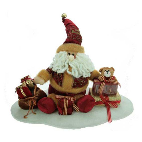 Новогодняя композиция «Дед Мороз с подарками»