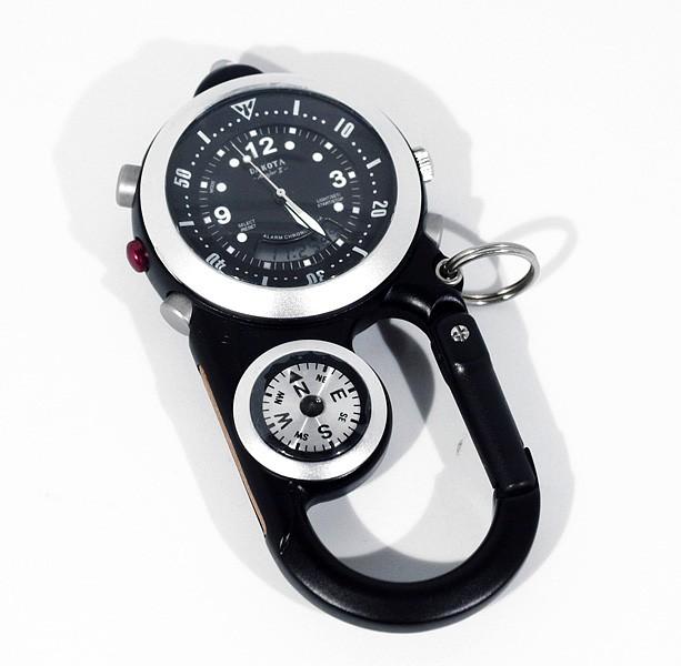 Часы-карабин Dakota с компасом и термометром