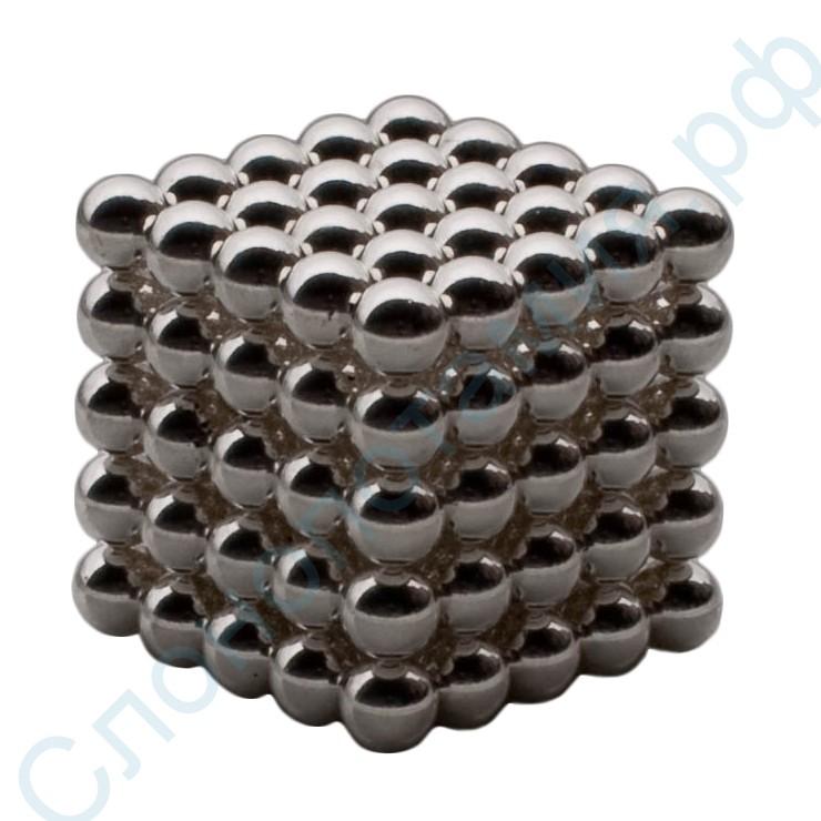 Никелевый магнитный неокуб Neocube (125 шариков 6 мм)
