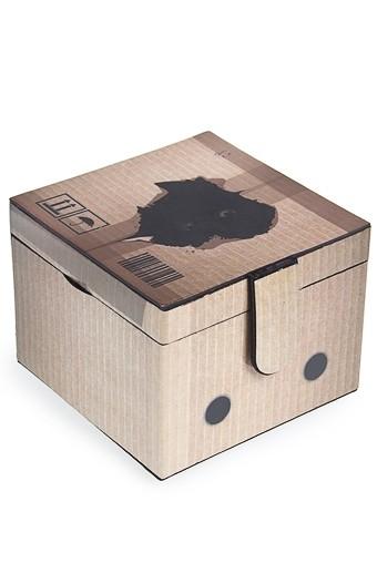 Шкатулка для ювелирных украшений Котик в коробке
