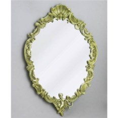 Настенное зеркало, размер 41x29 см