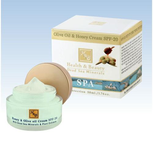 Крем с медом и оливковым маслом SPF-20 Health&Beauty (50 мл)