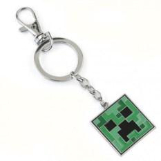 Железный брелок Minecraft Крипер