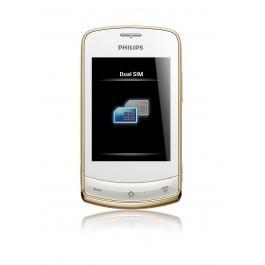 Мобильный телефон Philips Xenium X518 CTX518WHT
