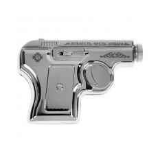 Металлическая фляжка «Пистолет»