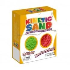 Кинетический цветной песок