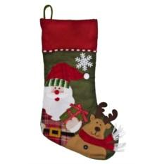 Рождественский носок Улыбчивый герой