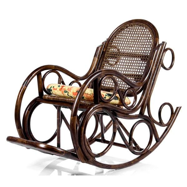Кресло-качалка с подушкой Novo