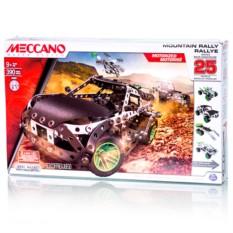 Набор-конструктор Meccano Раллийная машина (25 моделей)