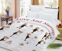 Прикольное постельное белье Свадебное