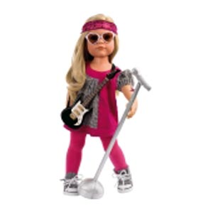 Кукла  «Ханна рок-звезда»