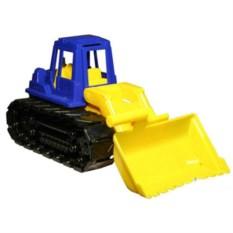 Пластмассовая игрушка Трактор с грейдером Байкал