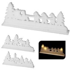 Светящаяся миниатюра Зимний пейзаж
