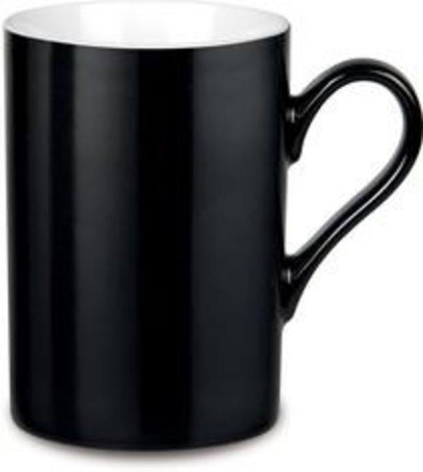 Черная фарфоровая кружка Prime Colour
