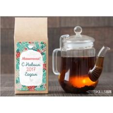 Чёрный чай «Новогодний подарок»