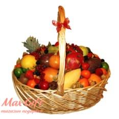 Корзина с фруктами Высшее общество