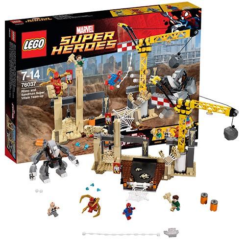 Конструктор Lego Super Heroes Рино и Песочный человек
