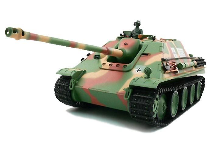 Радиоуправляемый танк Heng Long German Jangpanther с дымом