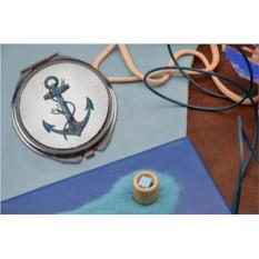 Карманное зеркальце Морской якорь