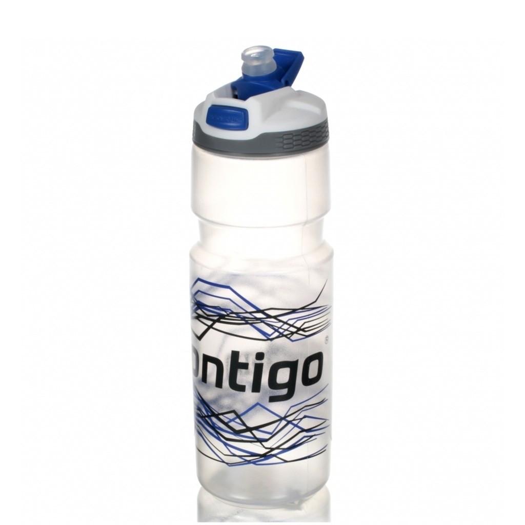 Спортивная бутылка для питья Devon (цвет — серебристо-синий)