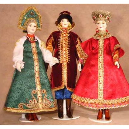 Куклы Малышки серия «Этнографический костюм»