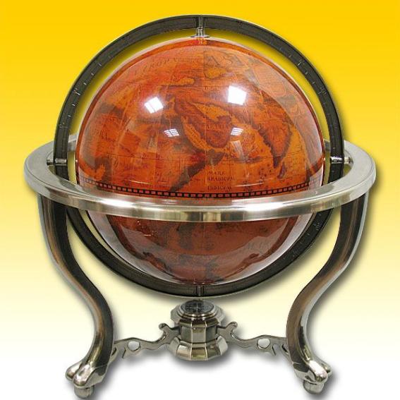 Глобус-бар на подставке