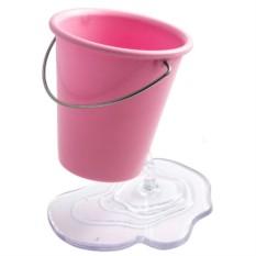 Подставка под ручки Розовое ведерко