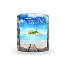 Кружка с 3D печатью Дорога в отпуск