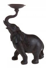 Подсвечник Слон счастья