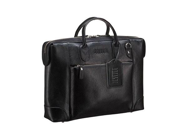 Деловая черная сумка Brialdi Atlanta