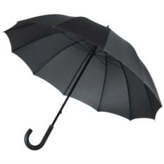 Черный механический зонт-трость Lui