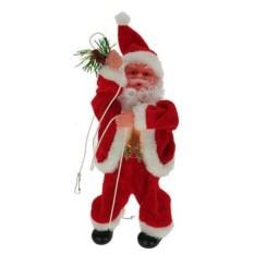 Механическая музыкальная игрушка Санта Клаус (20 см)