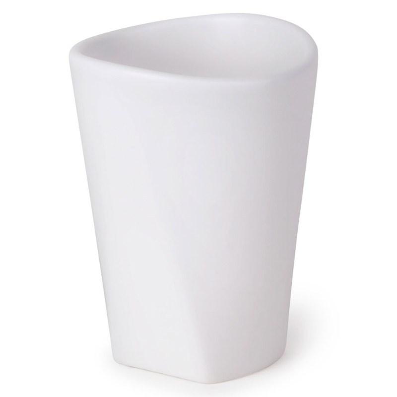 Стакан для ванной Ava, белый