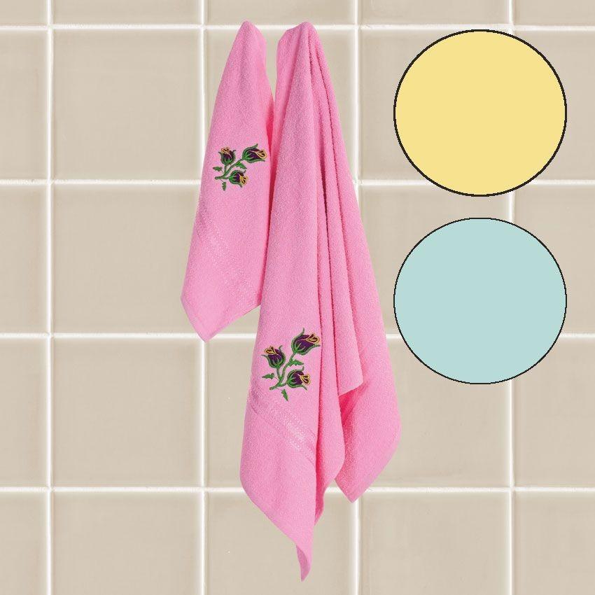 Набор махровых полотенец  Ольга