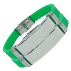 Зеленые парные браслеты для двоих