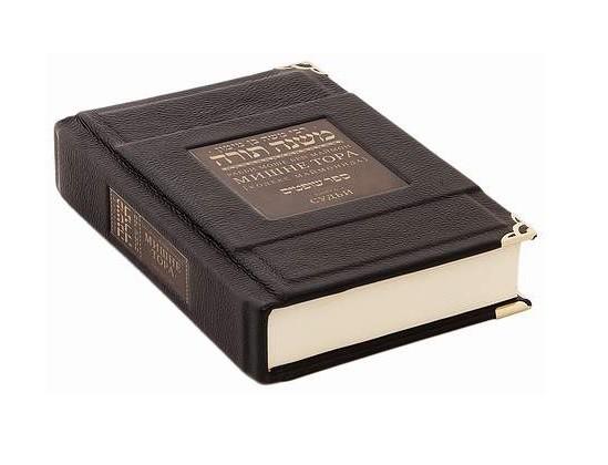 Книга Мишне Тора. Судьи (кожа в мешочке)