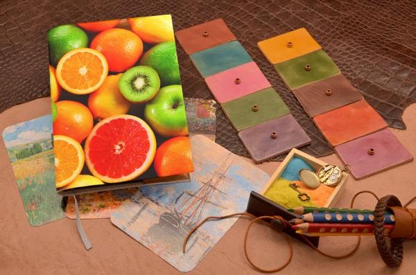 Ежедневник Сочные фрукты