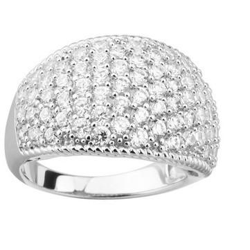 Кольцо из серебра Sandara