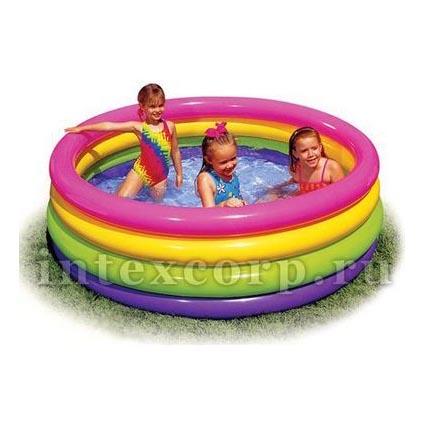 Надувной бассейн «Радуга»