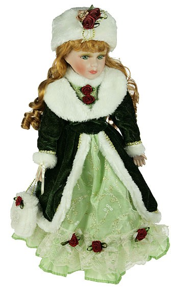 Кукла коллекционная Анжелика, фарфор
