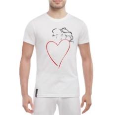 Мужская футболка Влюбленная пара