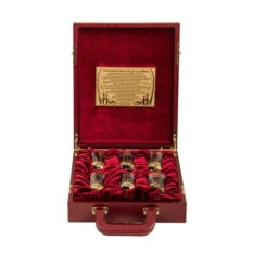 Подарочный набор в футляре из дерева Рыбацкий