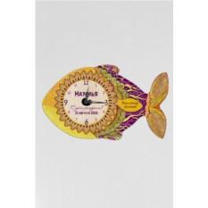 Настенные часы с вашим именем Золотая рыбка