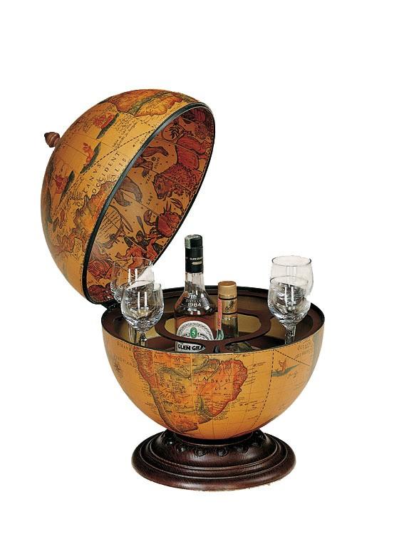 Настольный глобус-бар Zoffoli