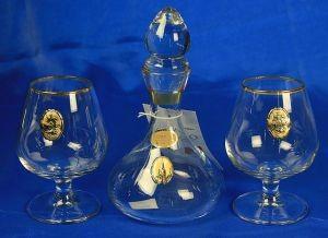 Подарочный набор для ликёра и водки Москва, 16 см