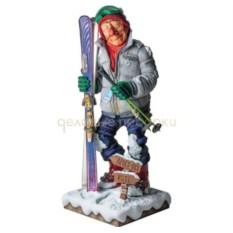 Скульптура Лыжник