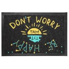 Придверный коврик Don't worry, be happy!