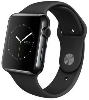 Apple Watch 42mm Space Black with Sport Band (цвет Black)