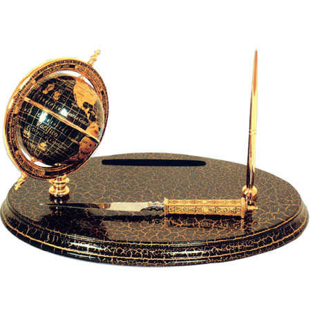 Настольный прибор с глобусом «Амундсен»